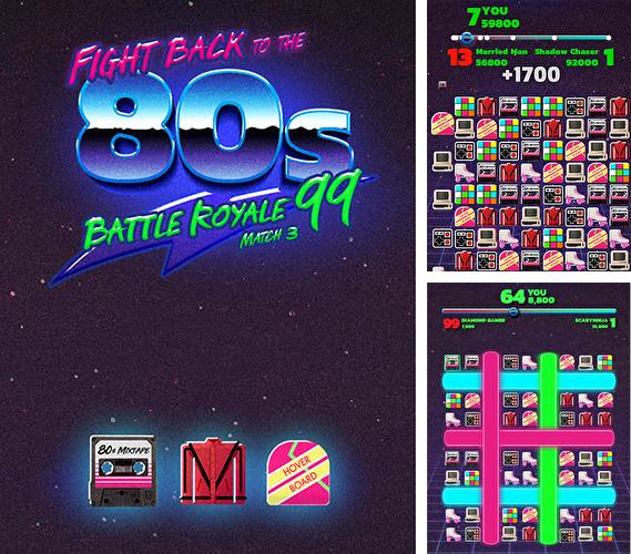 Fight back to the 80's: Match 3 battle royale