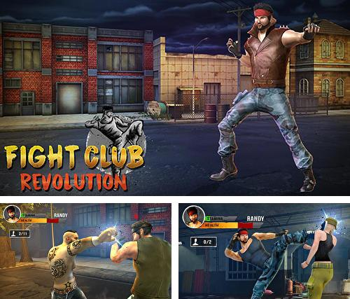 Кроме игры 2017 The god of highschool скачайте бесплатно Fight club revolution group 2: Fighting combat для Android телефона или планшета.