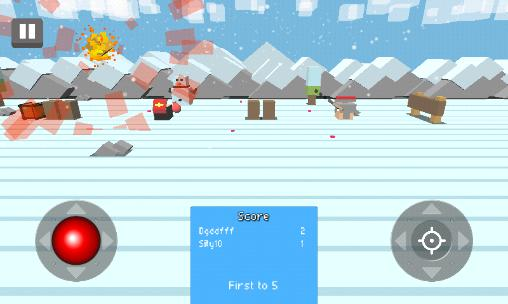 Screenshots von Fight kub: Multiplayer PvP für Android-Tablet, Smartphone.