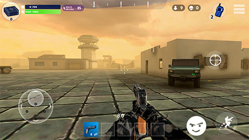 Kostenloses Android-Game Kampfnacht: Battle Royale. Vollversion der Android-apk-App Hirschjäger: Die Fight night: Battle royale für Tablets und Telefone.