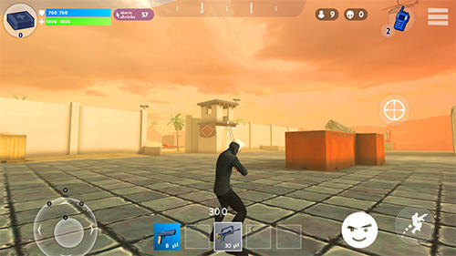 Screenshots von Fight night: Battle royale für Android-Tablet, Smartphone.