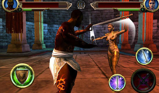 Kostenloses Android-Game Kampf der Legenden. Vollversion der Android-apk-App Hirschjäger: Die Fight of the legends für Tablets und Telefone.
