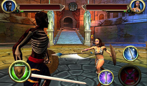 Screenshots von Fight of the legends für Android-Tablet, Smartphone.