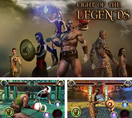 In addition to the game Steel: Street fighter club for Android phones and tablets, you can also download Fight of the legends for free.