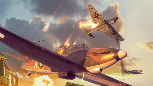 玩安卓版Fighter wings: Sky raider。免费下载游戏。