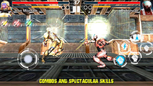 Fighting game: Steel avengers screenshot 1