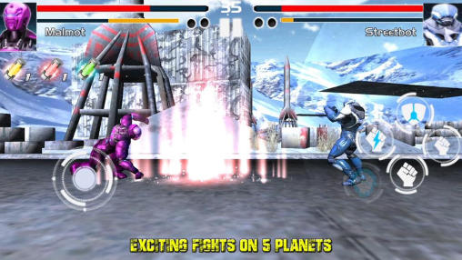Fighting game: Steel avengers screenshot 2
