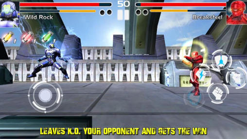 Fighting game: Steel avengers screenshot 3