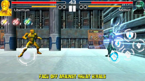 Fighting game: Steel avengers screenshot 5