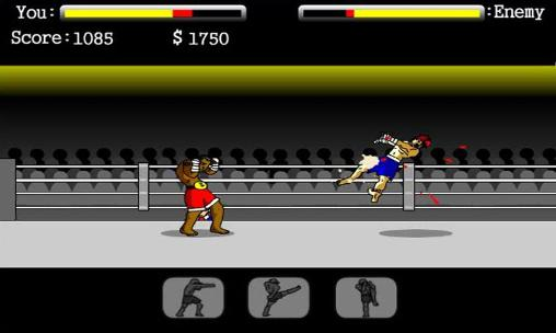 Screenshots von Fighting man für Android-Tablet, Smartphone.