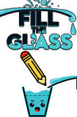 Fill the glass: Drawing puzzles APK