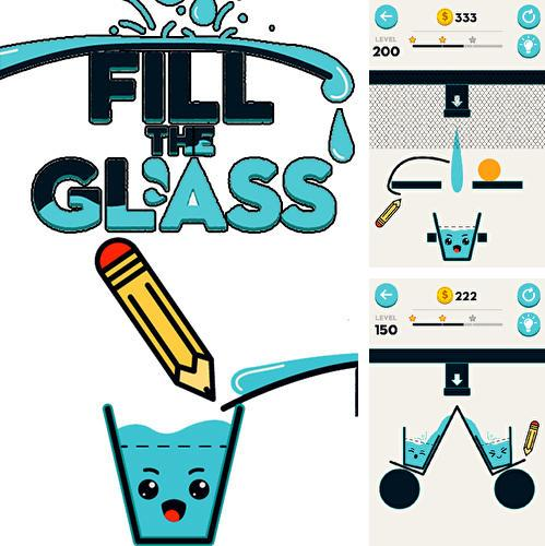 Fill the glass: Drawing puzzles