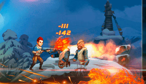 Screenshots von Final destroyer shooter für Android-Tablet, Smartphone.