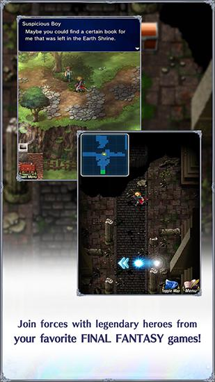 Screenshots von Final fantasy: Brave Exvius für Android-Tablet, Smartphone.