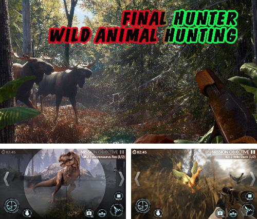 Final hunter: Wild animal hunting