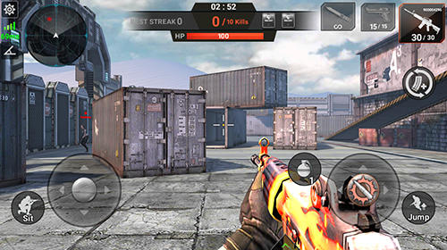 Screenshots von Iron tank assault: Frontline breaching storm für Android-Tablet, Smartphone.