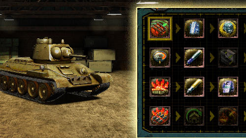 Find and destroy: Tank strategy скриншот 5