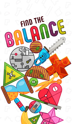 Find the balance: Physical funny objects puzzle