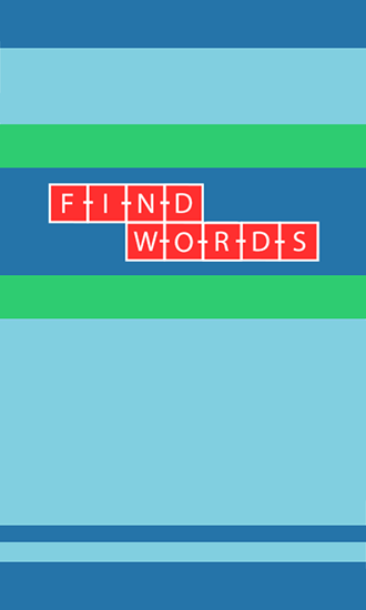 Find words poster