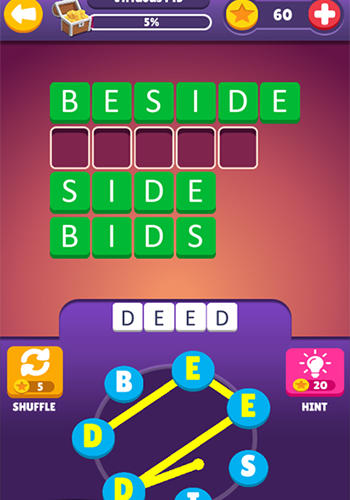 Find words: Puzzle game screenshot 2