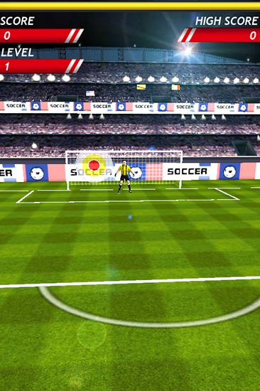 Finger free kick master. Kicks soccer screenshot 1