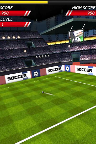 Finger free kick master. Kicks soccer screenshot 3