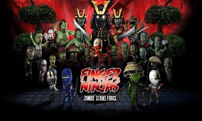 Finger Ninjas Zombie Strike-Force poster
