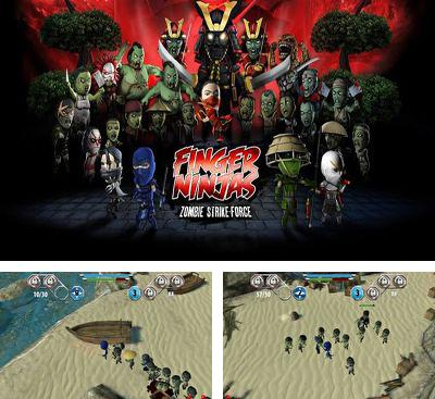 In addition to the game I Am Vegend Zombiegeddon for Android phones and tablets, you can also download Finger Ninjas Zombie Strike-Force for free.