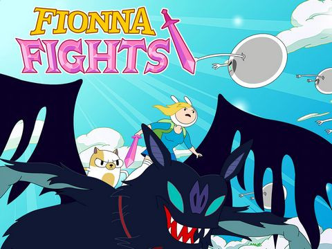 Fionna fights: Adventure time