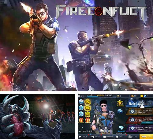 In addition to the game Last hope sniper: Zombie war for Android phones and tablets, you can also download Fire conflict: Zombie frontier for free.