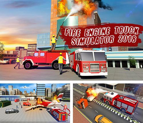 Fire engine truck simulator 2018