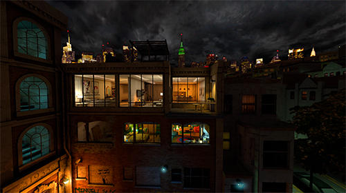 Screenshots do Fire escape: An interactive VR series - Perigoso para tablet e celular Android.