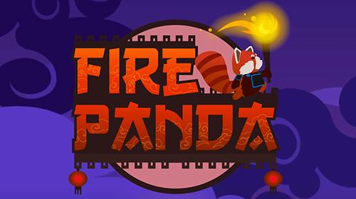 Fire panda poster