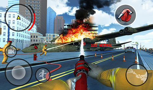 Screenshots do Firefighters in Mad City - Perigoso para tablet e celular Android.