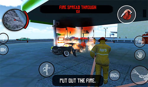 Геймплей Firefighters in Mad City для Android телефону.
