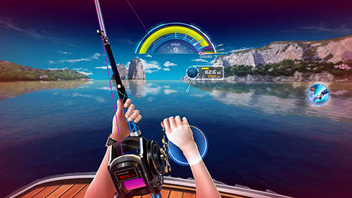 Screenshots do First fishing - Perigoso para tablet e celular Android.
