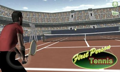 First Person Tennis