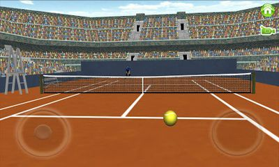 Capturas de pantalla de First Person Tennis para tabletas y teléfonos Android.