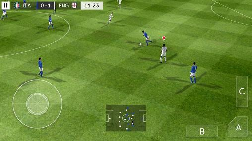 Stickman soccer 2016 screenshot 1