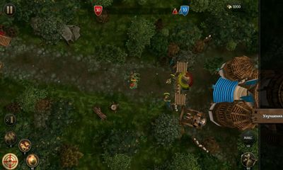 Screenshots von First Wood War für Android-Tablet, Smartphone.