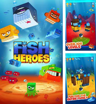 In addition to the game Rescue Roby for Android phones and tablets, you can also download Fish Heroes for free.