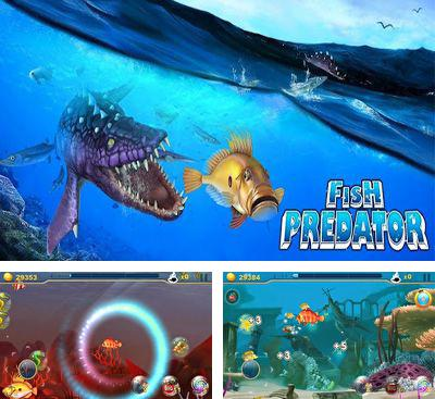 In addition to the game Snappy Dragons for Android phones and tablets, you can also download Fish Predator for free.