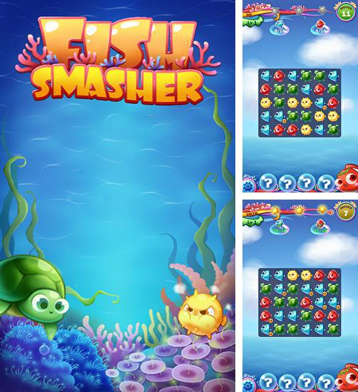 In addition to the game Fruit shooter saga for Android phones and tablets, you can also download Fish smasher for free.