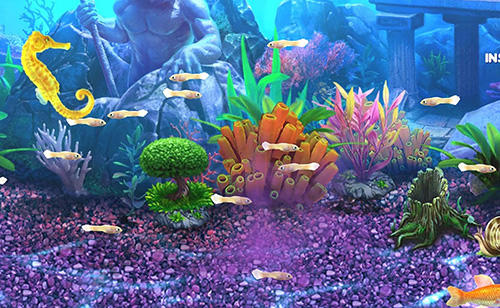 Kostenloses Android-Game Fisch Tycoon 2: Virtuelles Aquarium. Vollversion der Android-apk-App Hirschjäger: Die Fish tycoon 2: Virtual aquarium für Tablets und Telefone.