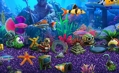 Screenshots von Fish tycoon 2: Virtual aquarium für Android-Tablet, Smartphone.