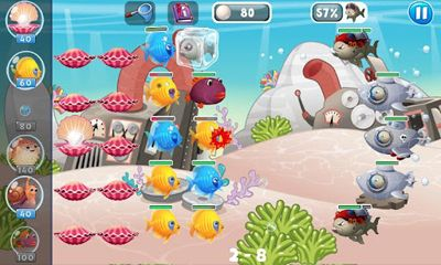 Screenshots von Fish vs Pirates für Android-Tablet, Smartphone.