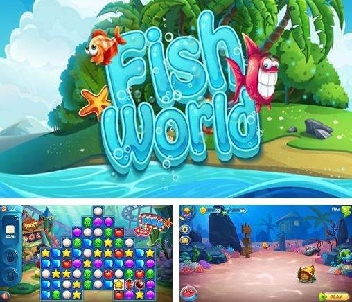 In addition to the game Fishdom Spooky HD for Android phones and tablets, you can also download Fish world for free.