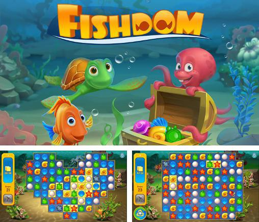 In addition to the game Fishdom Spooky HD for Android phones and tablets, you can also download Fishdom: Deep dive for free.