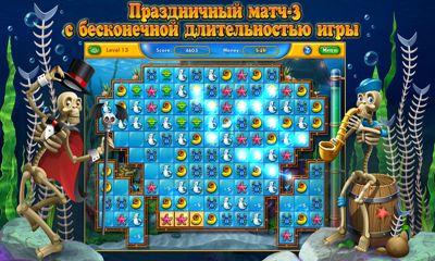 Download Fishdom Spooky HD Android free game.