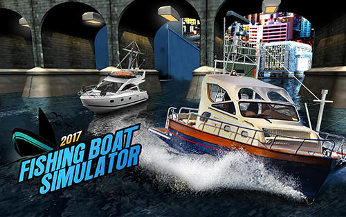 Fishing boat driving simulator 2017: Ship games